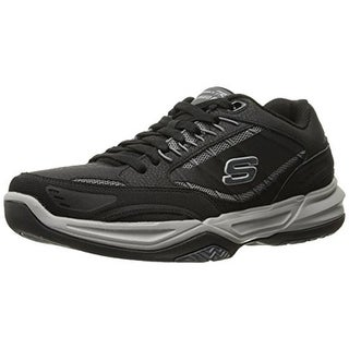 Skechers Mens Monaco TR- Swift Step Leather Running, Cross Training Shoes