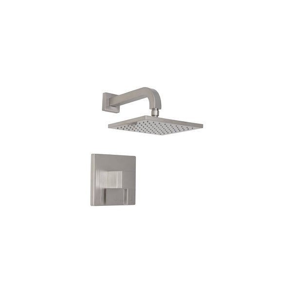Mirabelle MIRRI8020G Rigi Shower Only Trim Package with Single Function Shower 1.8 GPM Head