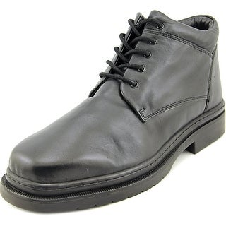 Giorgio Brutini Bentley Men  Round Toe Leather Black Boot