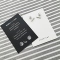 Honeycat Small Middle Bar Earrings (Delicate Jewelry) - Thumbnail 3