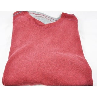 Tommy Bahama Red Size 3XB V Neck Sweater