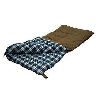 """Stansport White Tail 5 Lb. Rectangular Sleeping Bag, 78"""" X 36"""" - Brown"""