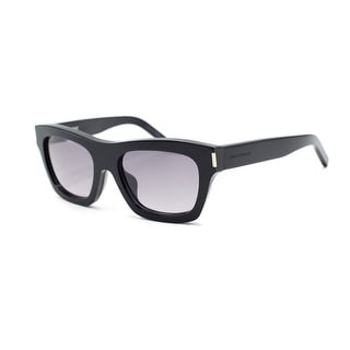 Yves Saint Laurent Paris Bold 4/F Black Shield Sunglasses