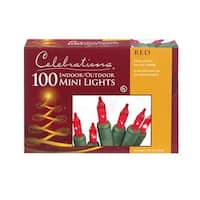 Celebrations 4003-71 100 Mini Red Light Set