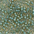 Toho Round Seed Beads 8/0 952 'Rainbow Light Topaz/Sea Foam Lined' 8g - Thumbnail 0