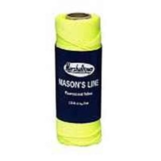 Marshalltown 632 Fluorescent Braided Nylon Mason Line 250', Yellow