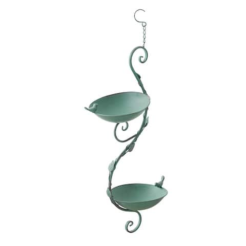 Hanging Vine Double Bird Feeder