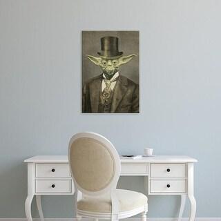Easy Art Prints Terry Fan's 'Sir Yodington' Premium Canvas Art