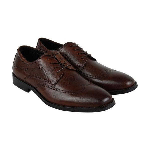 Kenneth Cole New York Design 10421 Mens Brown Casual Dress Oxfords Shoes