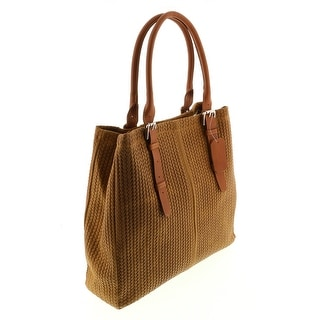 HS Collection HS 2078 CU ASPA Tan Leather Tote/Shopper Bags - 13-14-4.5