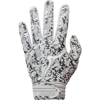 Mizuno Adult Covert Batting Gloves (Option: Grey)