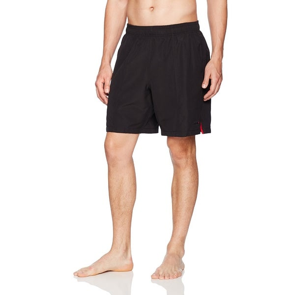27bb10e018e Shop Speedo Black Mens Size Medium M Drawstring Trunks Swimwear ...