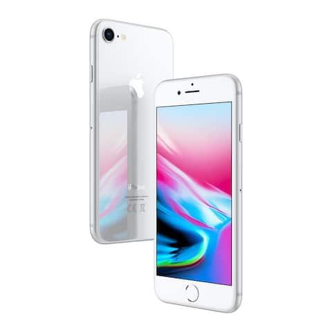 Apple iPhone 8 64gb Silver Fully Unlocked Refurbished