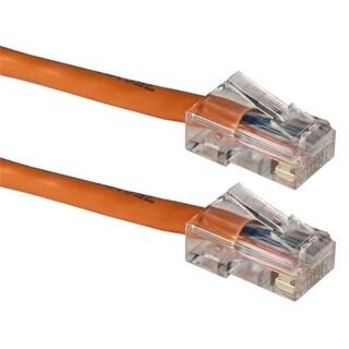 QVS CC712E-03OR 3 ft. 350MHz CAT5e Flexible Orange Patch Cord