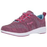 Propét Womens washable walker Low Top Lace Up Running Sneaker