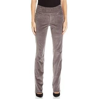 Jag Jeans NEW Smoke Gray Women's Size 16 Straight Leg Corduroys Pants