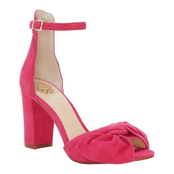 64ebb280e83 Shop Vince Camuto Women's Carrelen Heeled Sandal Hot Berry Pink True ...
