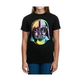 Star Wars Rainbow Vader Head T-Shirt