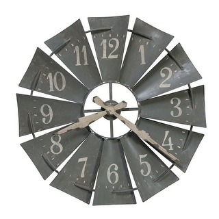 Link to Howard Miller Windmill Metal Windmill Wall Clock Similar Items in Decorative Accessories