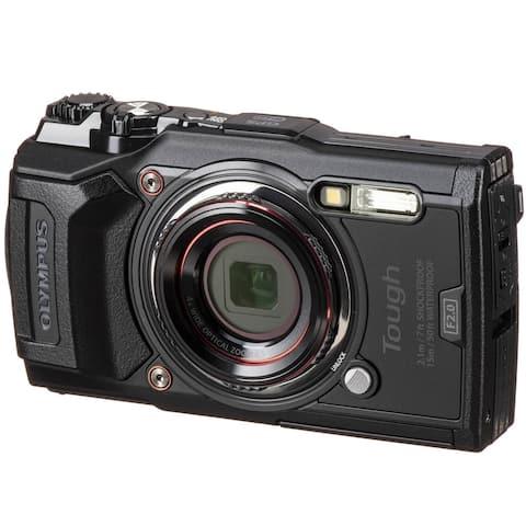 Olympus Tough TG-6 Waterproof Digital Camera (Black)