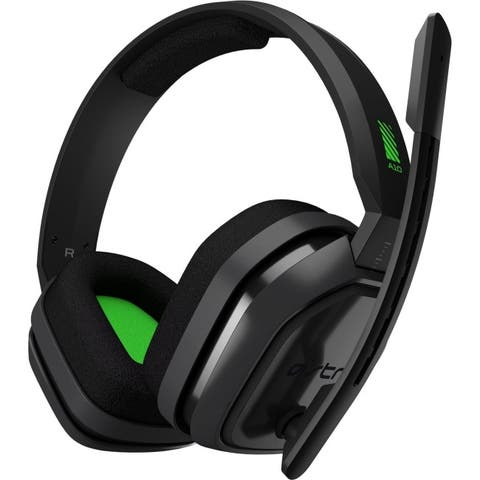 Logitech 939-001510 astro gaming a10 headset for xb1 (grey/green) - Green