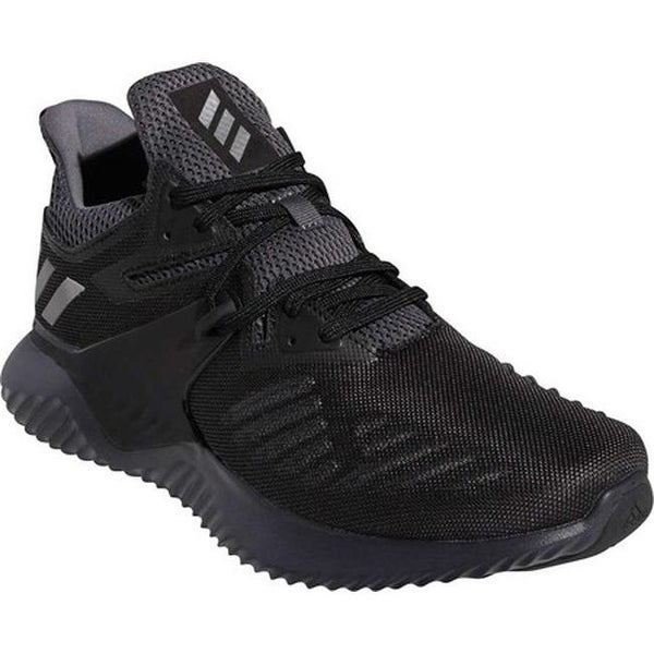 257c0bbe85438 adidas Men  x27 s Alphabounce Beyond 2 Running Shoe Core Black Silver Met