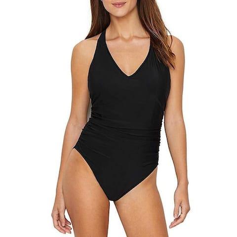 Magicsuit Women's Magic Solids Trudy One Piece Swimsuit Black Sz 10