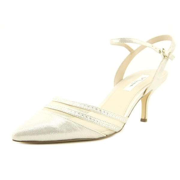 eaf71021891 Shop Nina Belicia Platino Pumps - Free Shipping On Orders Over  45 ...
