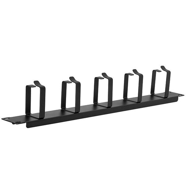 Premium Cable Management Metal D-Ring - 1U