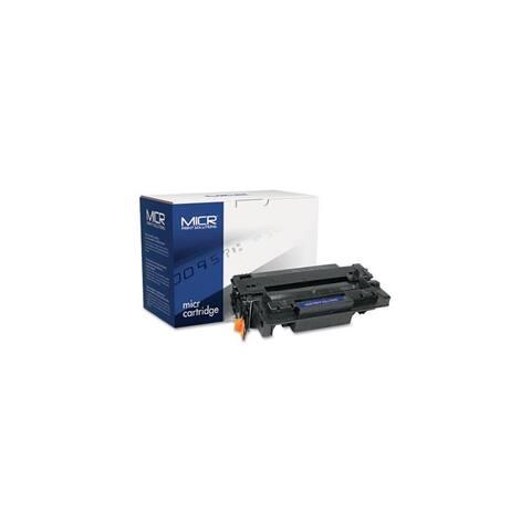 MICR Print Solutions Toner-Black Compatible with CE255AM MICR Toner