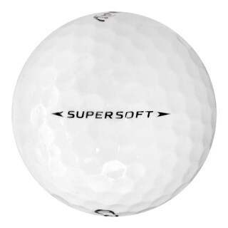 100 Callaway Supersoft - Value (AAA) Grade - Recycled (Used) Golf Balls