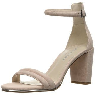Kenneth Cole New York Womens Lex Open Toe Ankle Strap elephant Size 11.0
