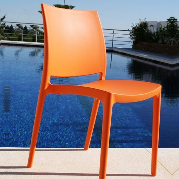 Maya Chair (Set of 2) - Orange
