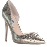 Steve Madden Ataturk Pointed Toe Heels, Gold - 8.5 us