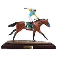 Breyer Artist's Resin Horse & Rider Figurine: American Pharoah - multi