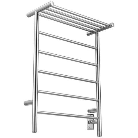 Ancona 5-Bar Plug-In and Hardwire Towel Warmer and Countdown Timer