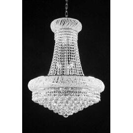 Swarovski Crystal Trimmed French Empire Lighting H24x W32