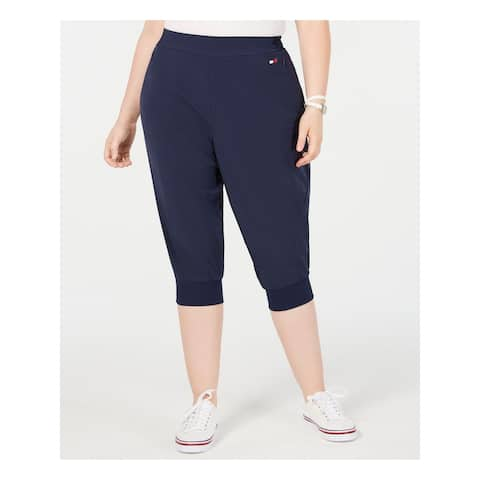 TOMMY HILFIGER Womens Navy Pants Size 2X