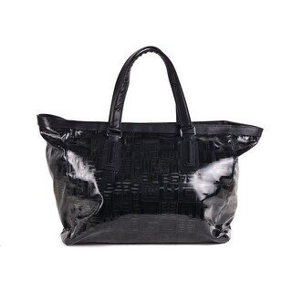 Givanchy Black Leather and Nylon Tote Bag