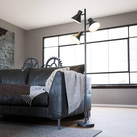 Porch & Den York 64-inch Black Tree Lamp