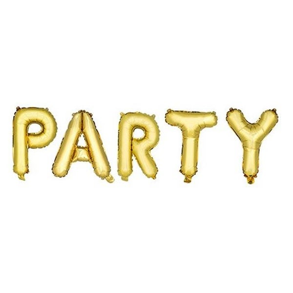 Shop Cakewalk 6233 14 In Gold Party Mylar Balloon