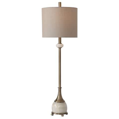 Uttermost Natania Plated Brass Buffet Lamp