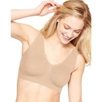 Hanes Ultimate Comfy Support 2 PK - Size - L - Color - Soft Taupe w/White