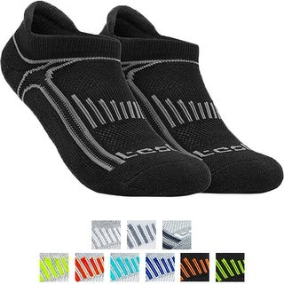 Tesla TM-MZS05 Low-Cut Comfort Cushion Athletic Socks - 6-Pack
