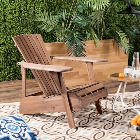 SAFAVIEH Mopani Rustic Brown Chair