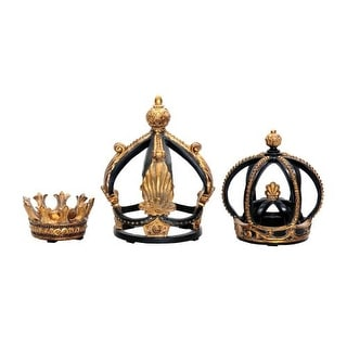 Sterling Industries 91-0013 Set of 3 Crowns