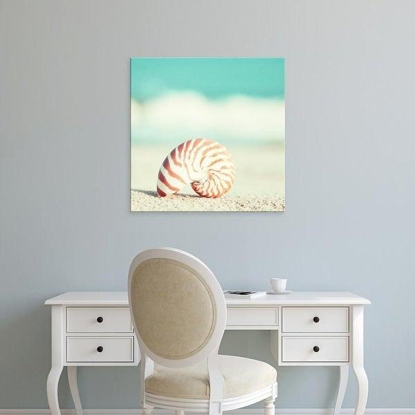 Easy Art Prints Carolyn Cochrane's 'Nautilus' Premium Canvas Art
