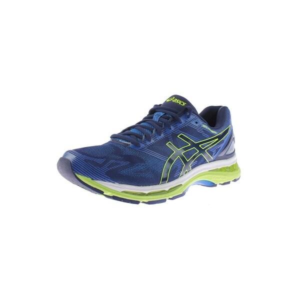 0604841a950aa Shop Asics Mens Gel-Nimbus 19 Running Shoes Mesh Signature - Free ...