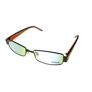 Just Cavalli Womens Opthalmic Frame Modified Brown Rectangle Metal JC225 48 - Medium