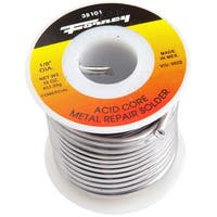 """Forney 38101 Solder, Commercial Acid Core, 1/8"""", 1 lbs"""